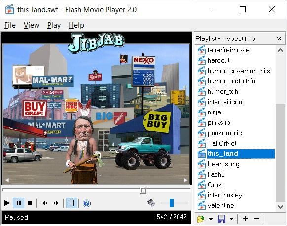 Flash Movie Player 2.0 full